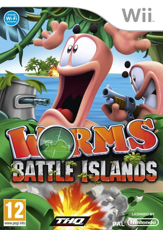 Worms Battle Island Wii