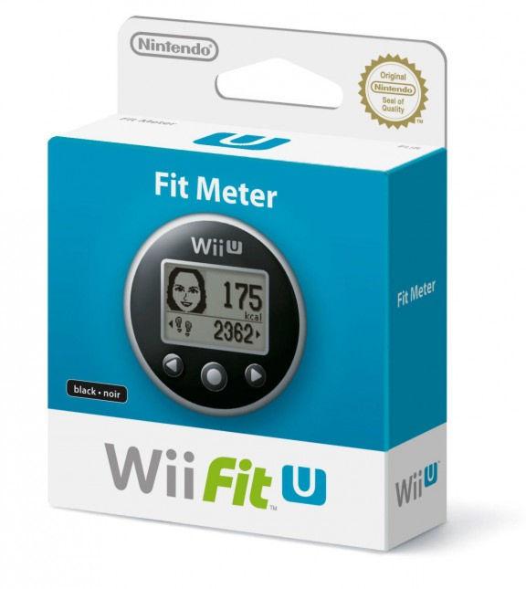Wii U Nintendo Игровой контроллер Fitmeter Black (NIA-2311266)