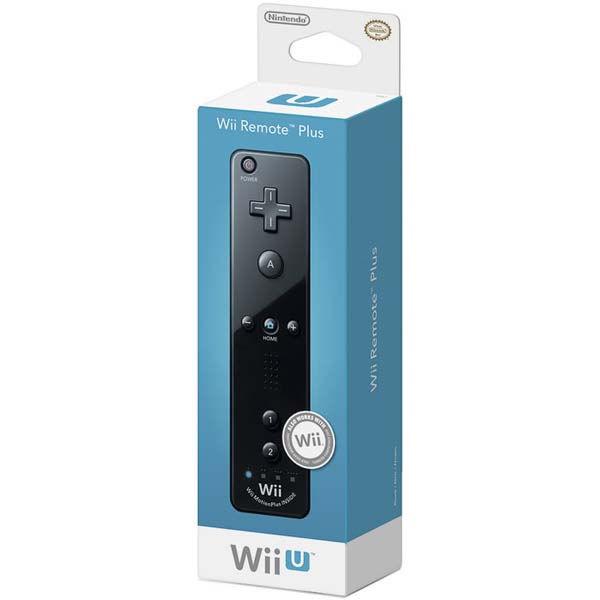 Wii U Nintendo Игровой контроллер Remote Plus Black (NIA-2310166)