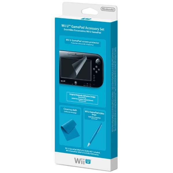 Wii U Nintendo Комплект аксессуаров GamePad Accessory Set (NIA-2311066)