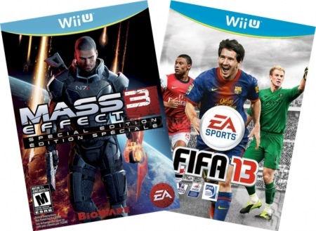 Комплект: FIFA 13 WiiU EX PG FRONTLINE + MASS EFFECT 3 SPECIAL EDITION WiiU EN PG FRONTLINE Wii U