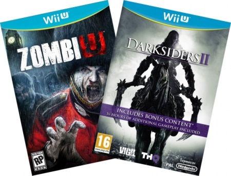 Комплект: Zombi U + DARKSIDERS II RUSSIAN [WiiU] Wii U