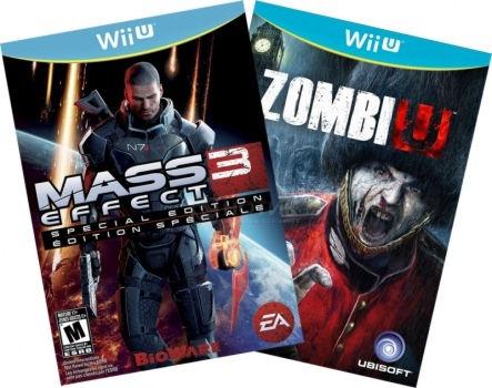 Комплект: Zombi U + MASS EFFECT 3 SPECIAL EDITION [WiiU] Wii U