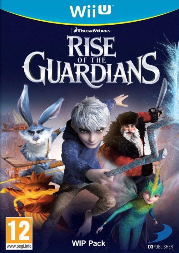 Rise of the Guardians [WiiU, английская версия] Wii U