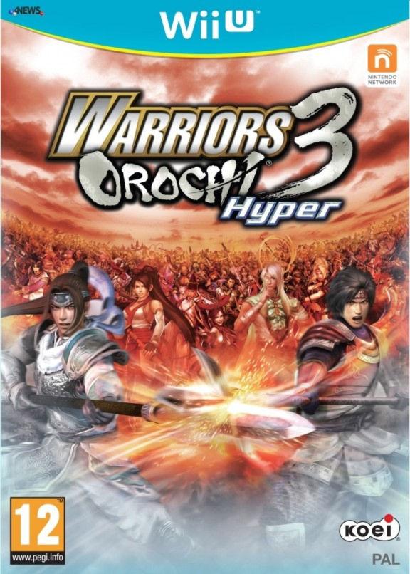 Warriors Orochi 3: Hyper [WiiU, английская версия] Wii U