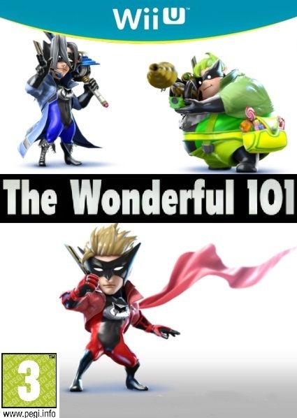 Wonderful 101 [WiiU, английская версия] Wii U