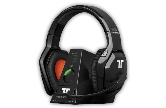 X-Box 360 Наушники Tritton Warhead 7.1 Dolby Wireless Surround Headset с микроф., с объемным звуком
