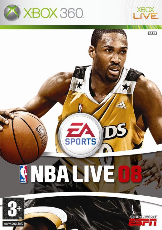 NBA Live 08 XBOX 360