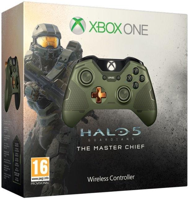 XboxOne Геймпад беспроводной Halo5 Мастер Чиф Wireless Gamepad (GK4-00013)