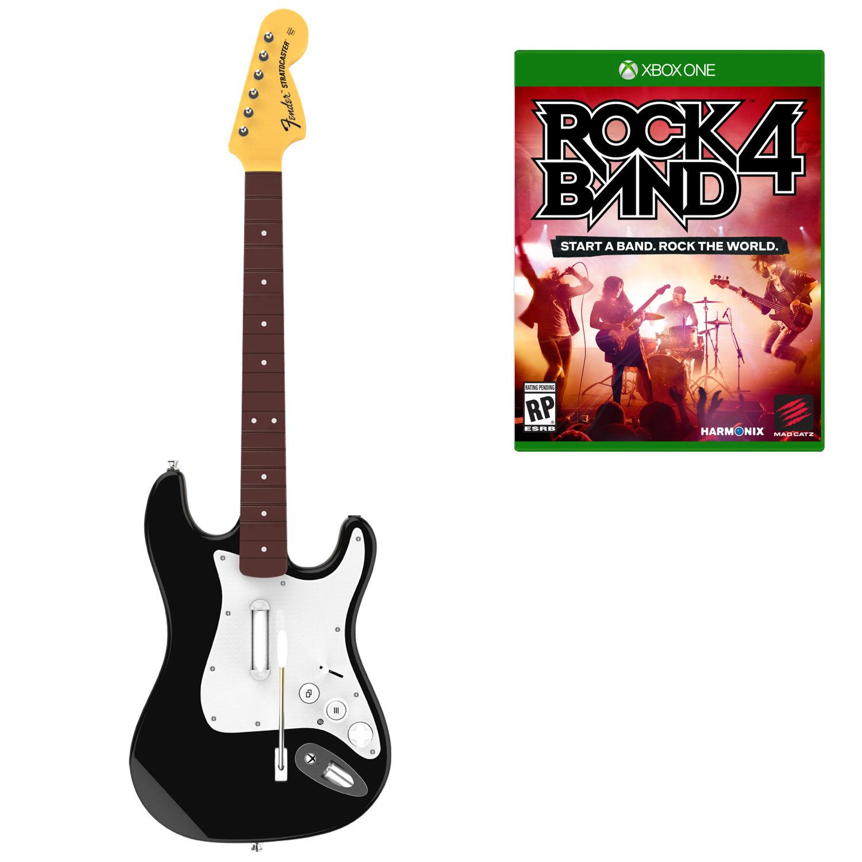 XboxOne Комплект для Rock Band 4 (игра+гитара) Wireless Fender Stratocaster (RB491168EM02/02/1)