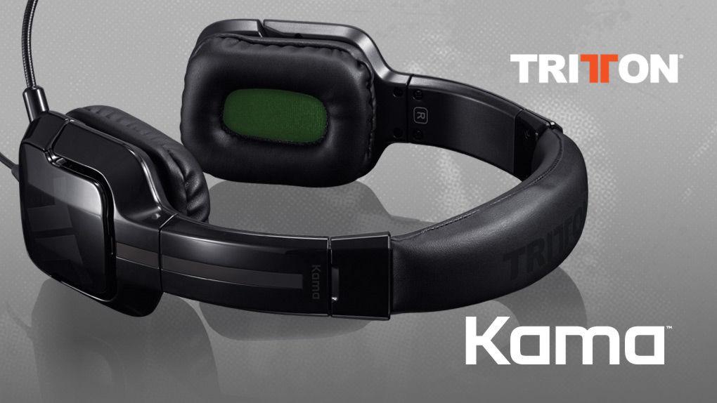 XboxOne Наушники с микрофоном Tritton Kama Stereo Headset — Black (TRI484010M02/02/1)