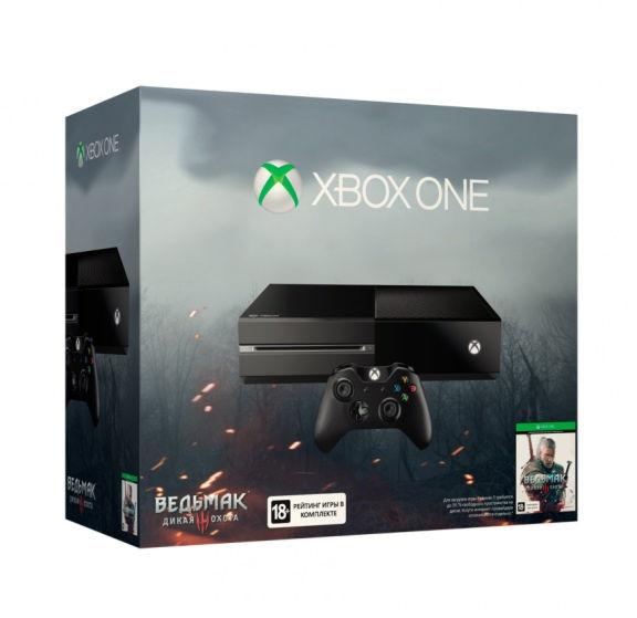 Xbox One 500GB (5C7-00117) код  Ведьмак 3: Дикая Охота
