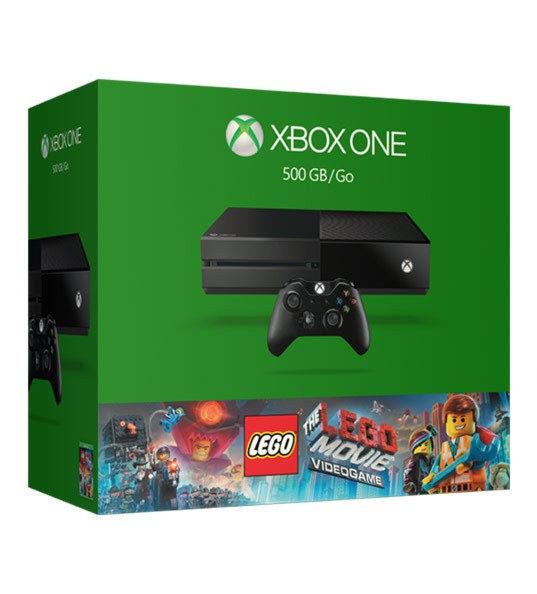 Xbox One 500GB(5С7-00181) + код Lego the Movie + Адаптер для стерео гарнитуры