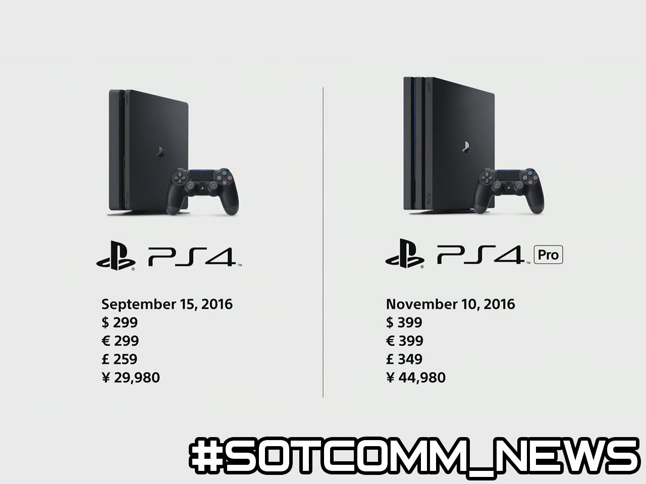 PlayStation 4 Slim PlayStation 4 PRO