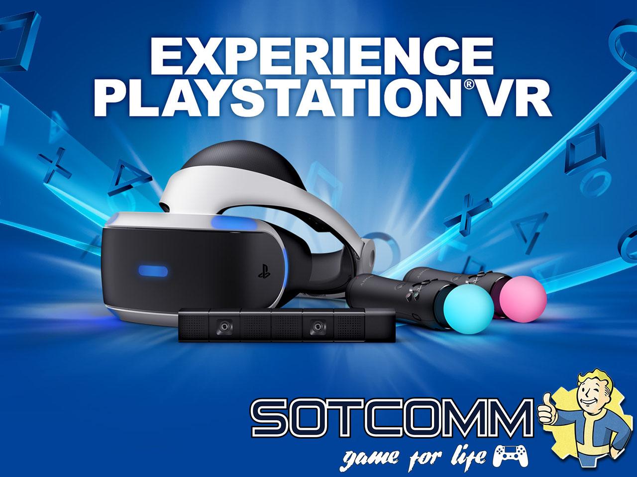 Прокат Playstation VR в Челябинске
