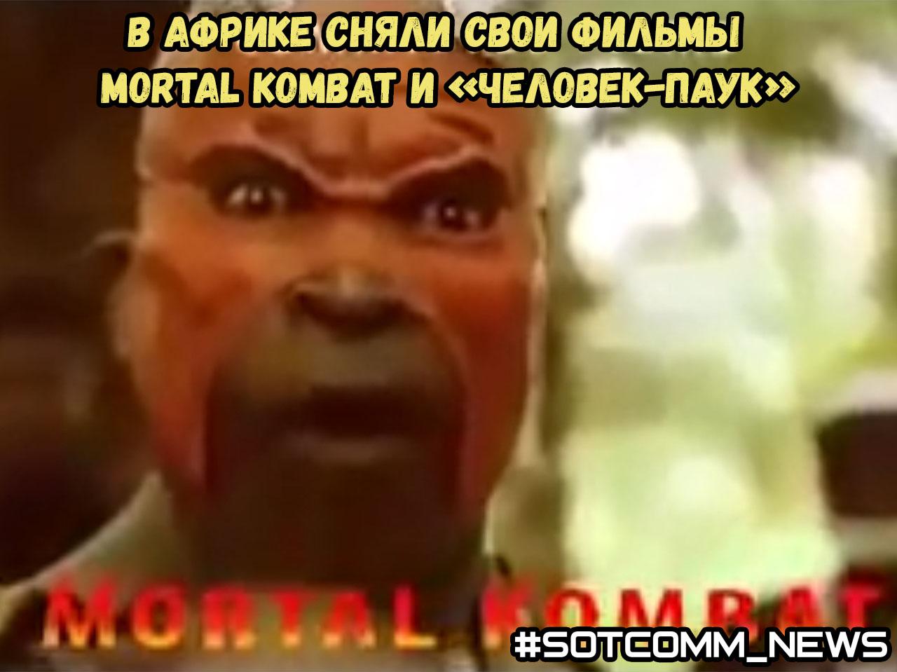 В Африке сняли свои фильмы Mortal Kombat и «Человек-паук»