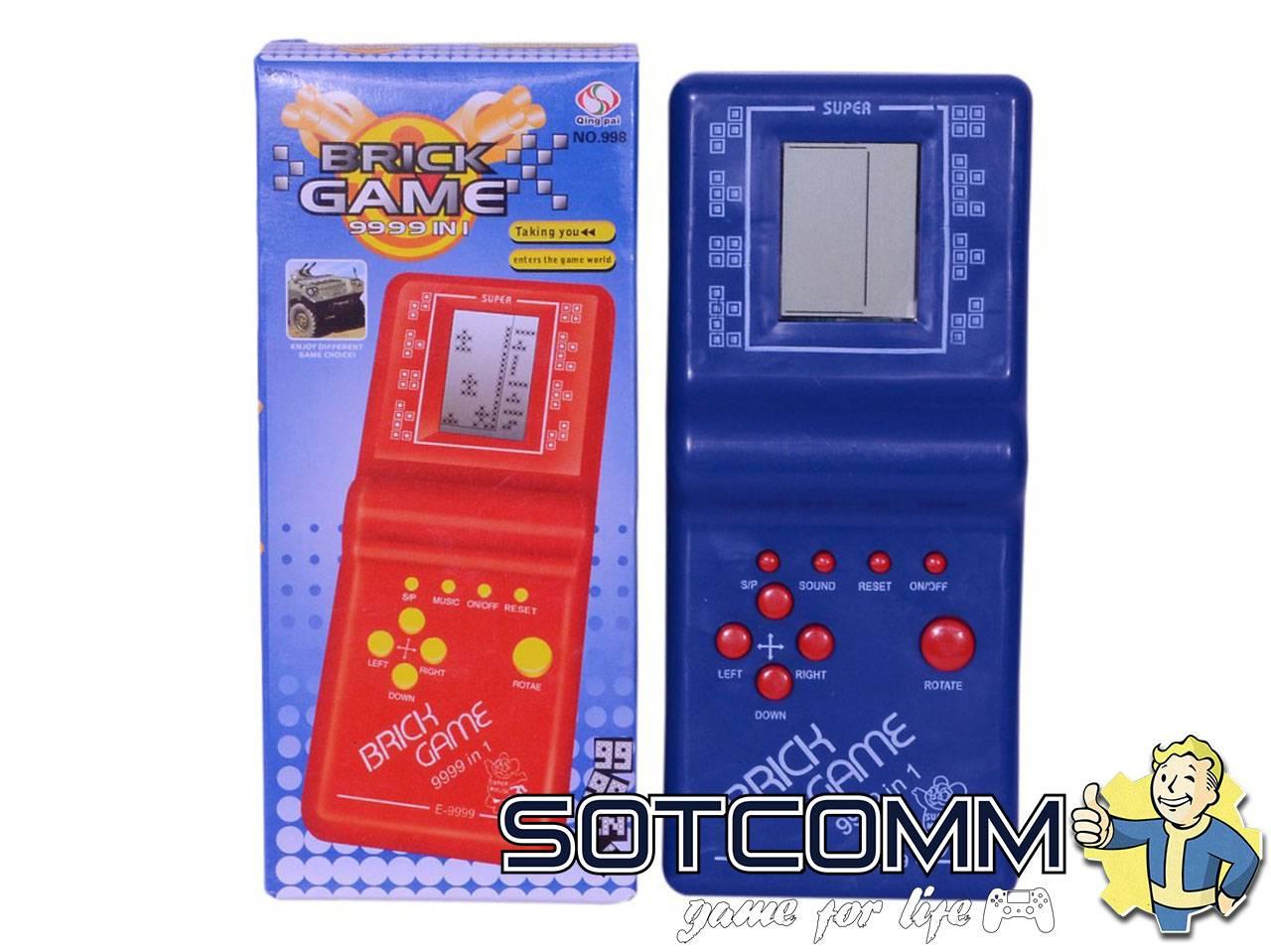Тетрис Brick Game 9999 in 1 E-9999