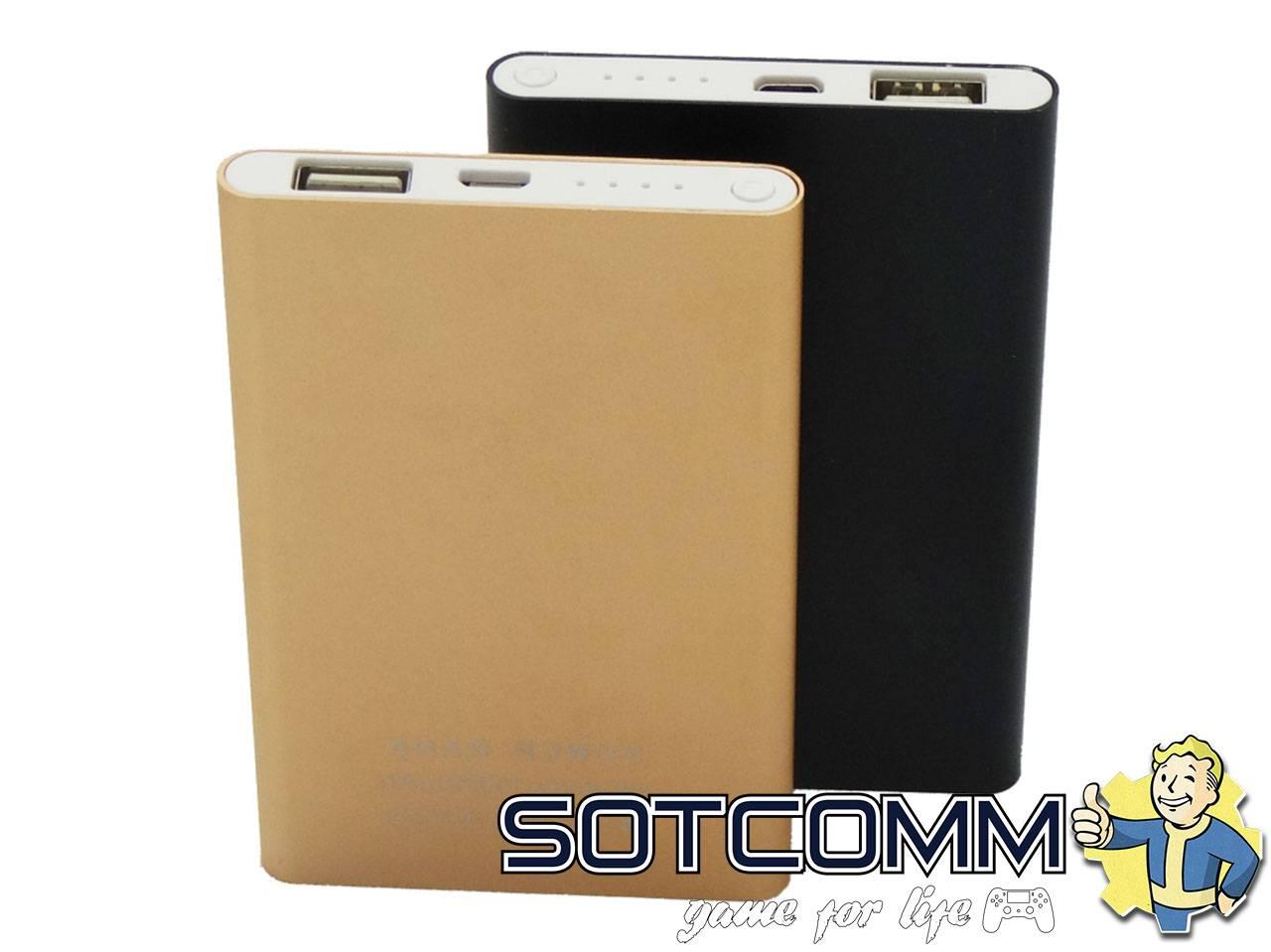 Ультратонкий внешний аккумулятор Power Bank Xiaomi 12000 mAh