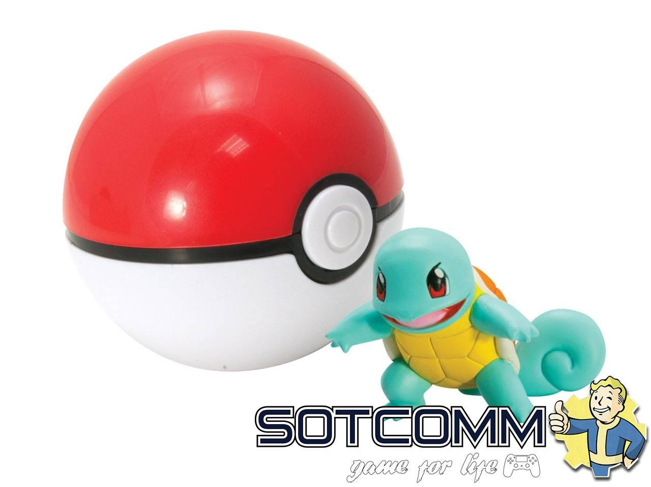 Pokemon Go Покебол + Покемон фигурка