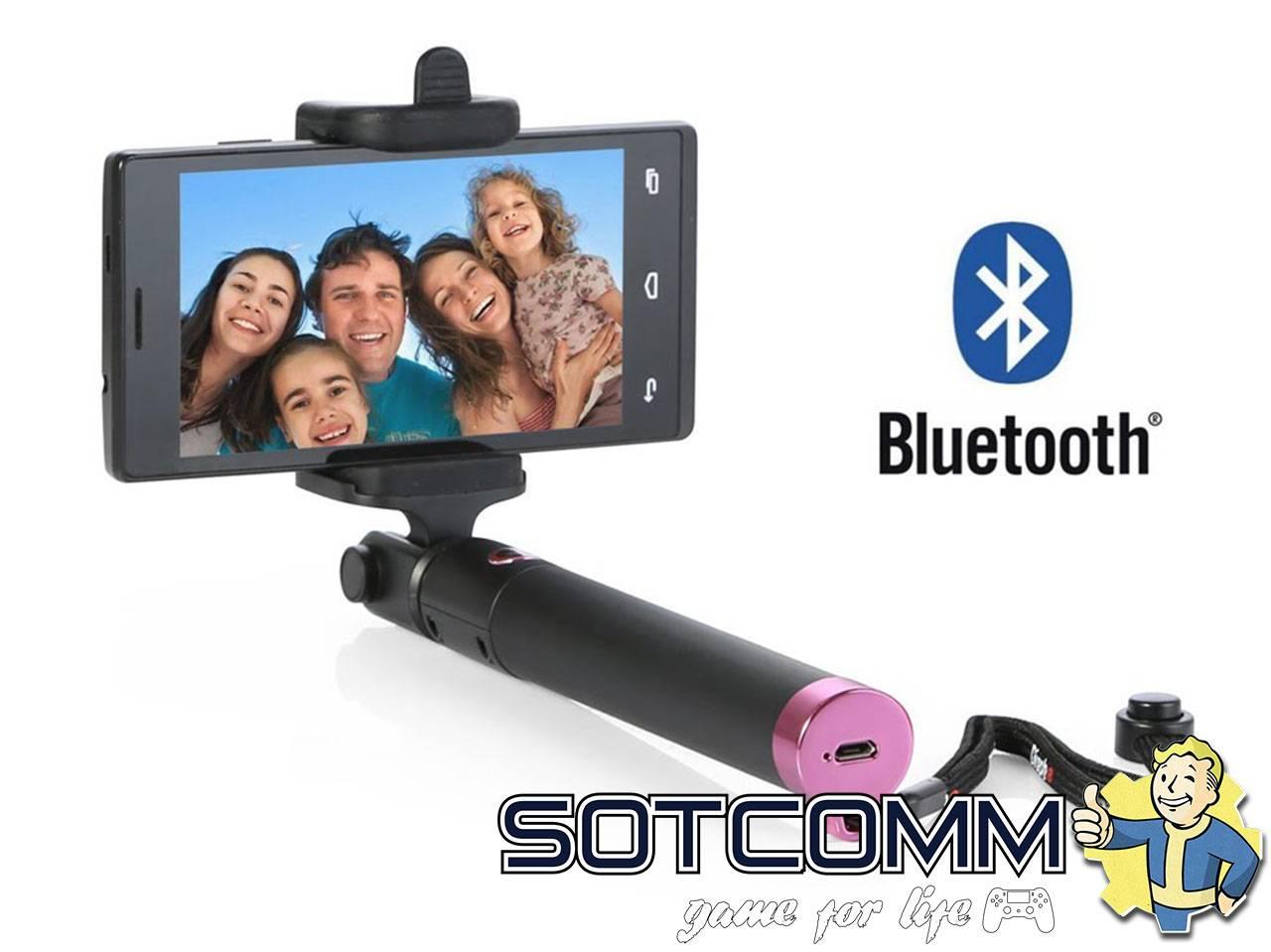 Bluetooth Монопод Селфи Палка