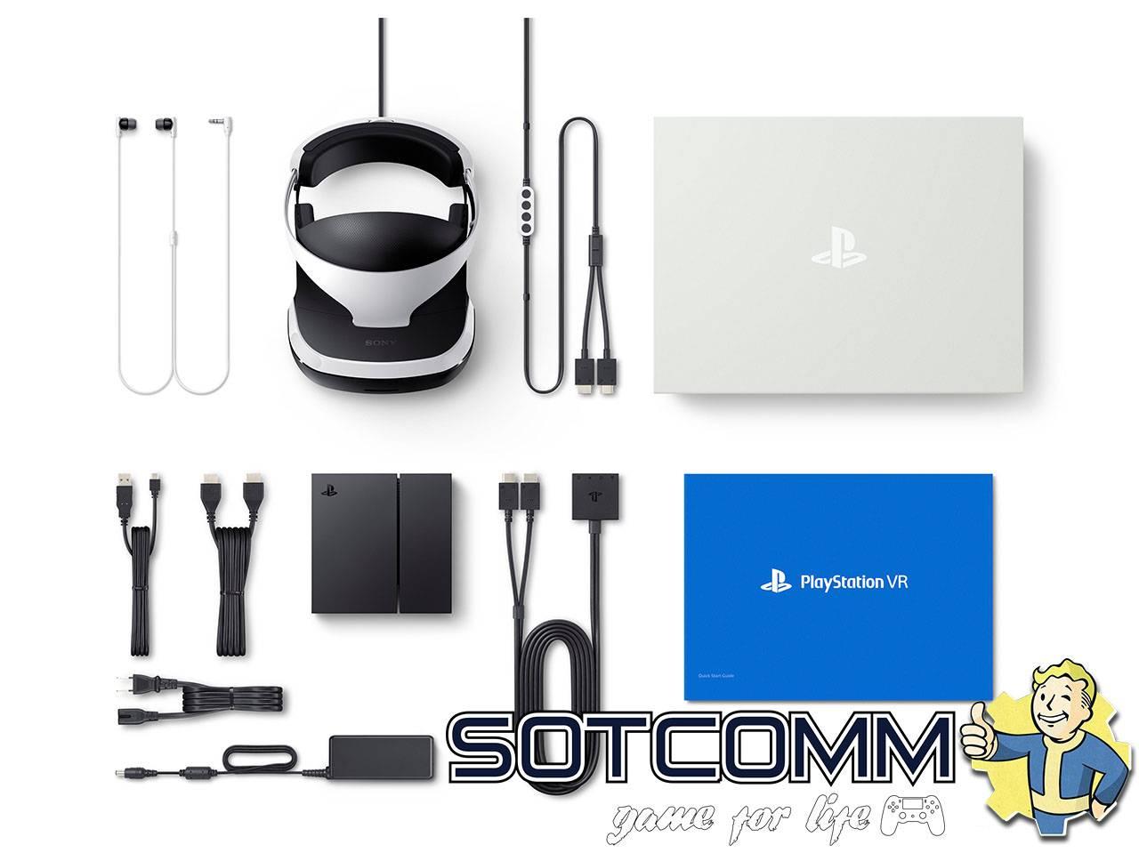 Купить шлем виртуальной реальности PlayStation VR