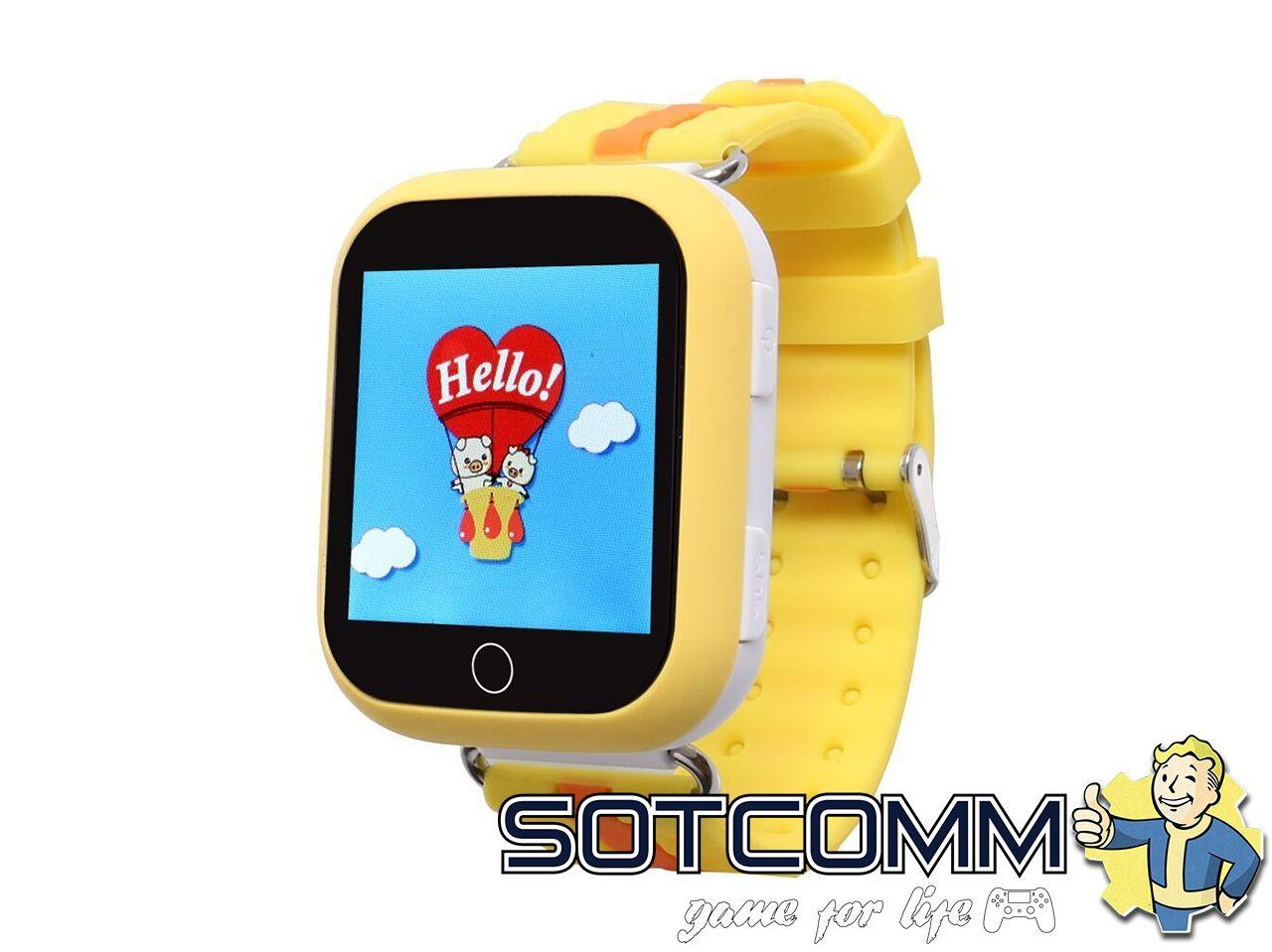 Детские смарт часы с GPS-трекером Hello
