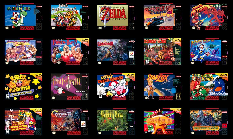Прошивка и закачка игр в Nintendo SNES MINI