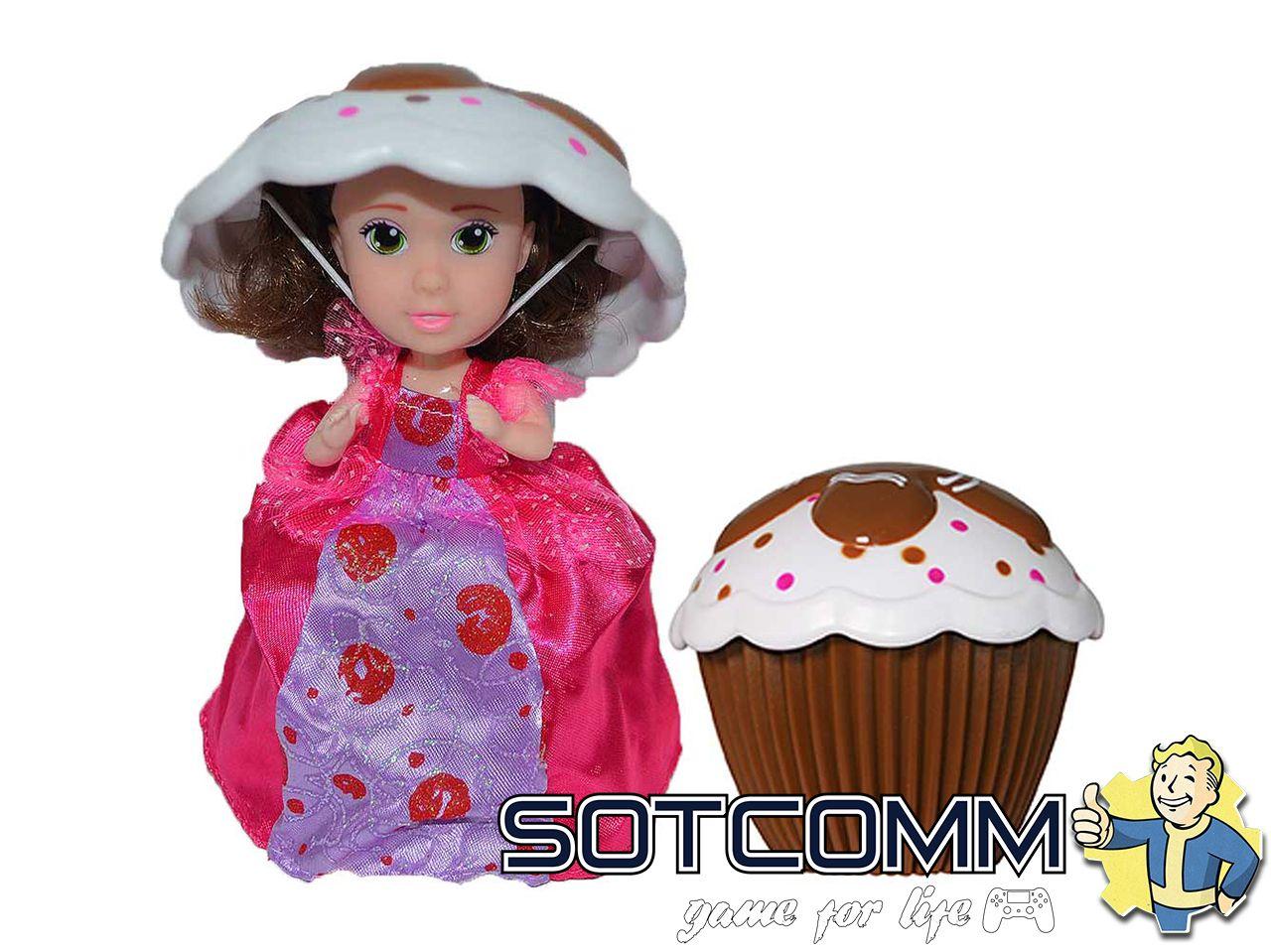 Кукла кекс Cupcake Surprise Капкейк Сюрпрайз