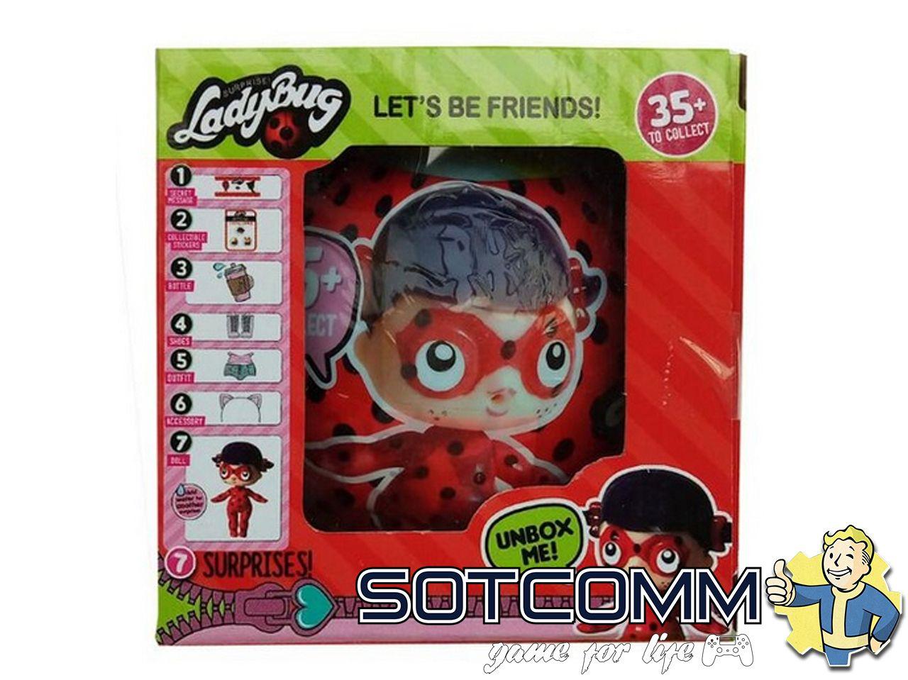 Кукла LOL Леди Баг LadyBug Surprise