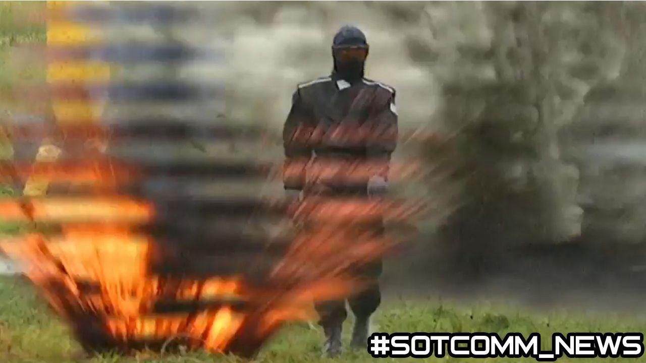 Новейший российский военный костюм выдерживает взрывы от гранат и мин