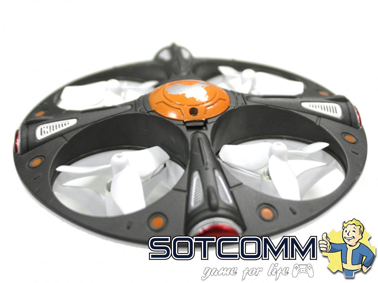 Радиоуправляемый мини квадрокоптер SKY UFO ОПТОМ