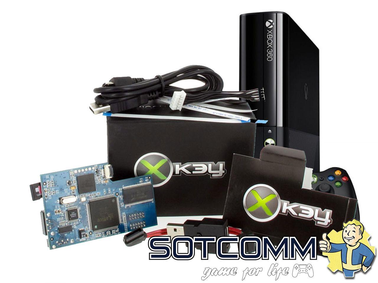 Установка Xkey на Xbox 360
