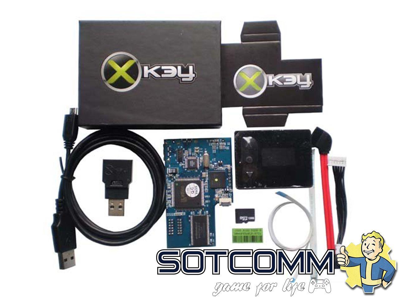 Установка Xkey на Xbox 360 в Челябинске