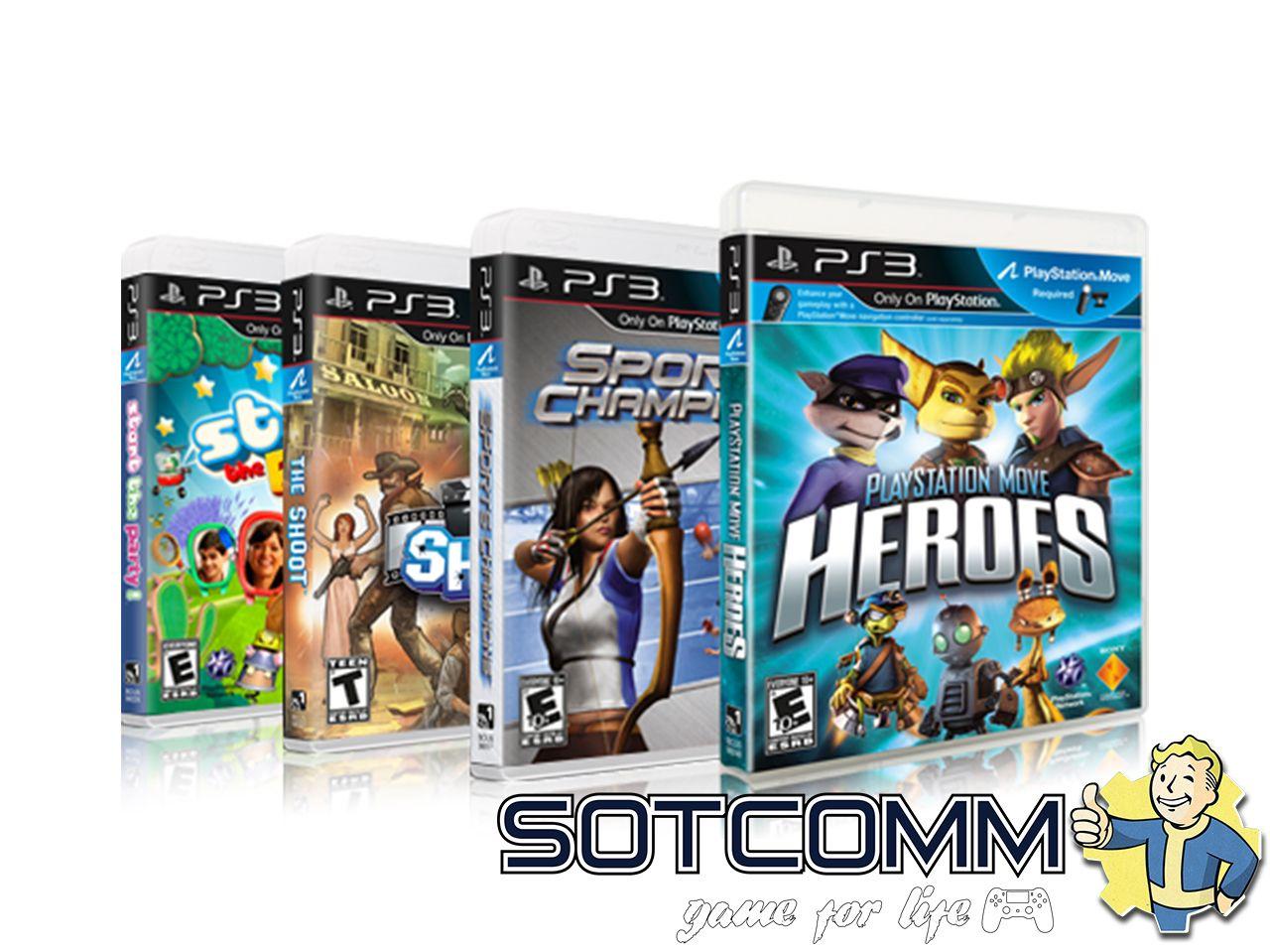 Закачка игр на PS3