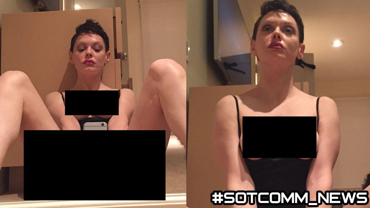 Хакеры слили в сеть интимные снимки  Роуз МакГоун (Rose McGowan) звезды сериала «Зачарованные»