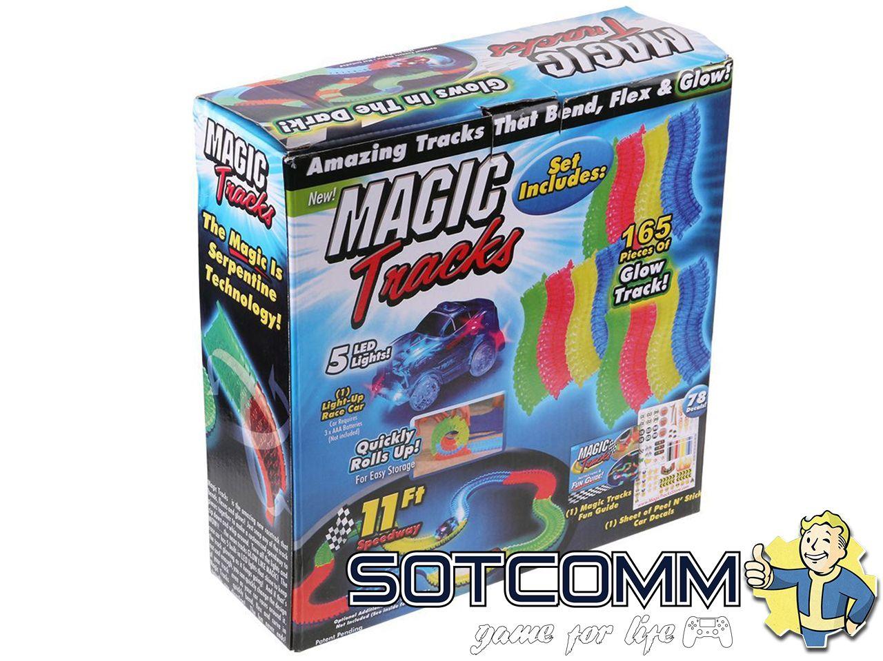 MAGIC TRACKS Мэджик трек 165 деталей ОПТОМ