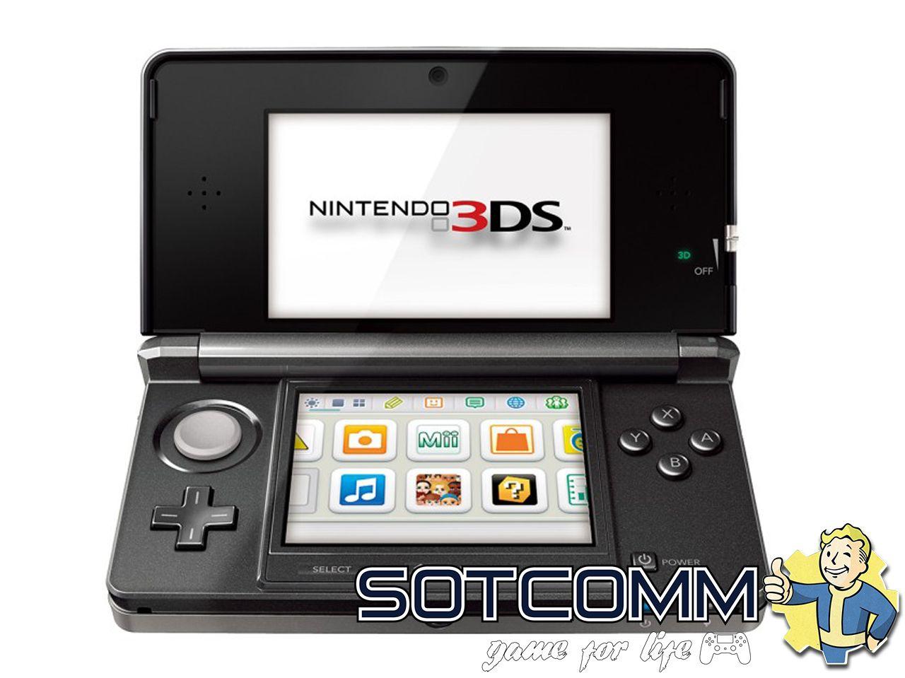 Ремонт Nintendo DS, 2DS, 3DS