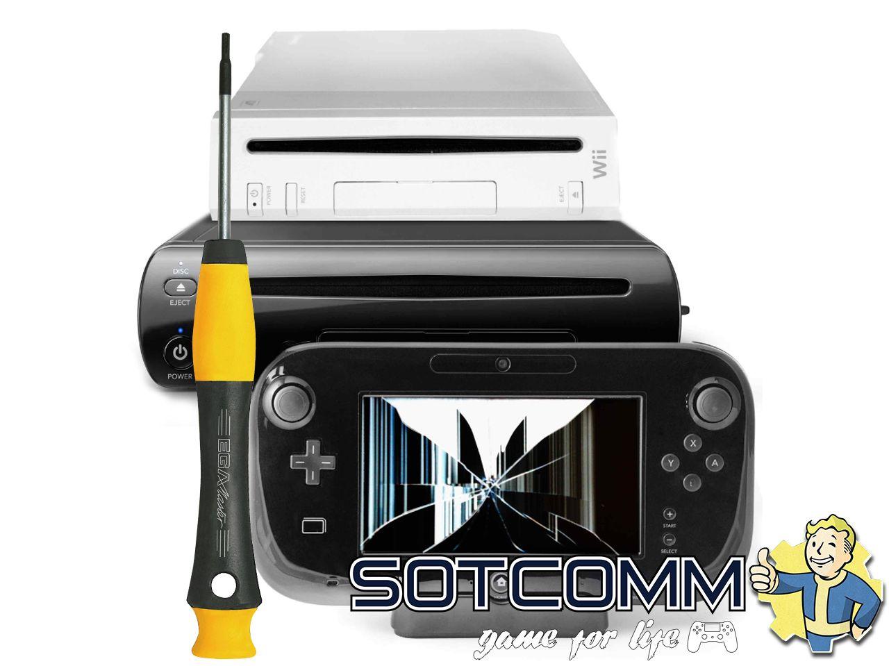 Ремонт Wii и Wii U
