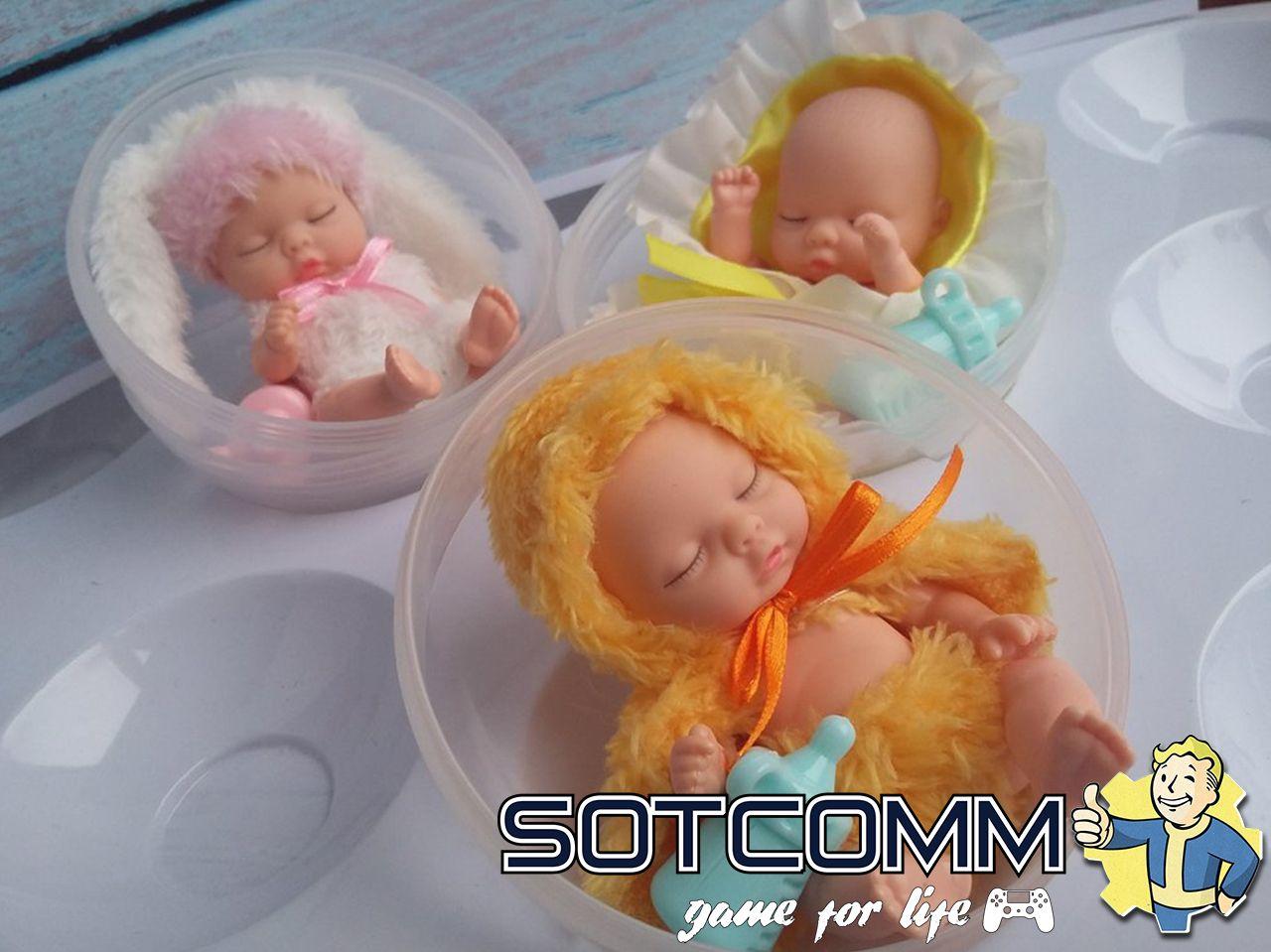 Мини реборн пупс в шарике Baby Ardana купить в Челябинске