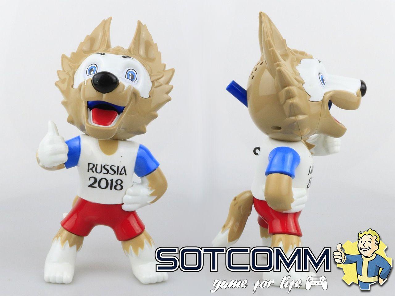 Волк Забивака 2018 FIFA World Cup Russia