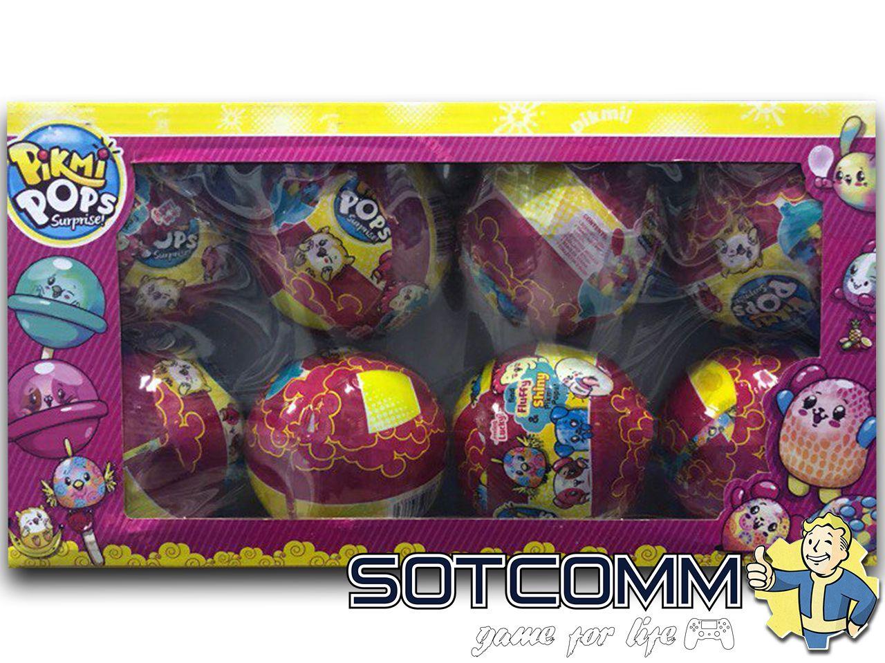 LOL Pikmi Pops Surprise ball в шаре шар