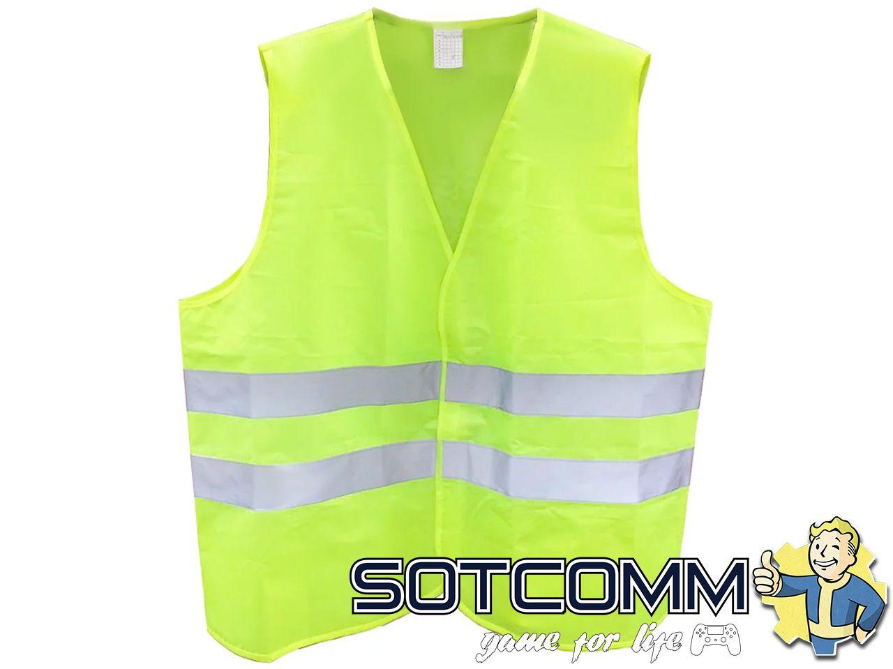 Сигнальный светоотражающий жилет для водителей ГОСТ 12.4.281-2014