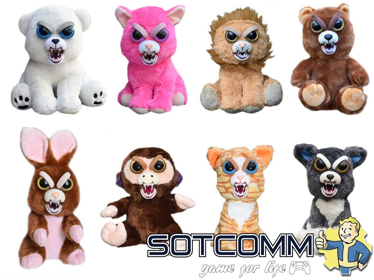 Злые игрушки Feisty Pets купить в Челябинске