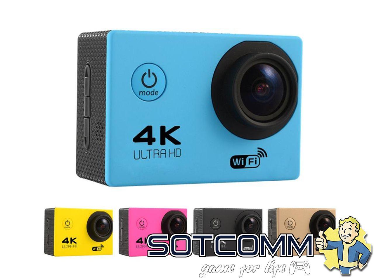 Action camera F60 Ultra HD 4K Wi-Fi купить в Челябинске