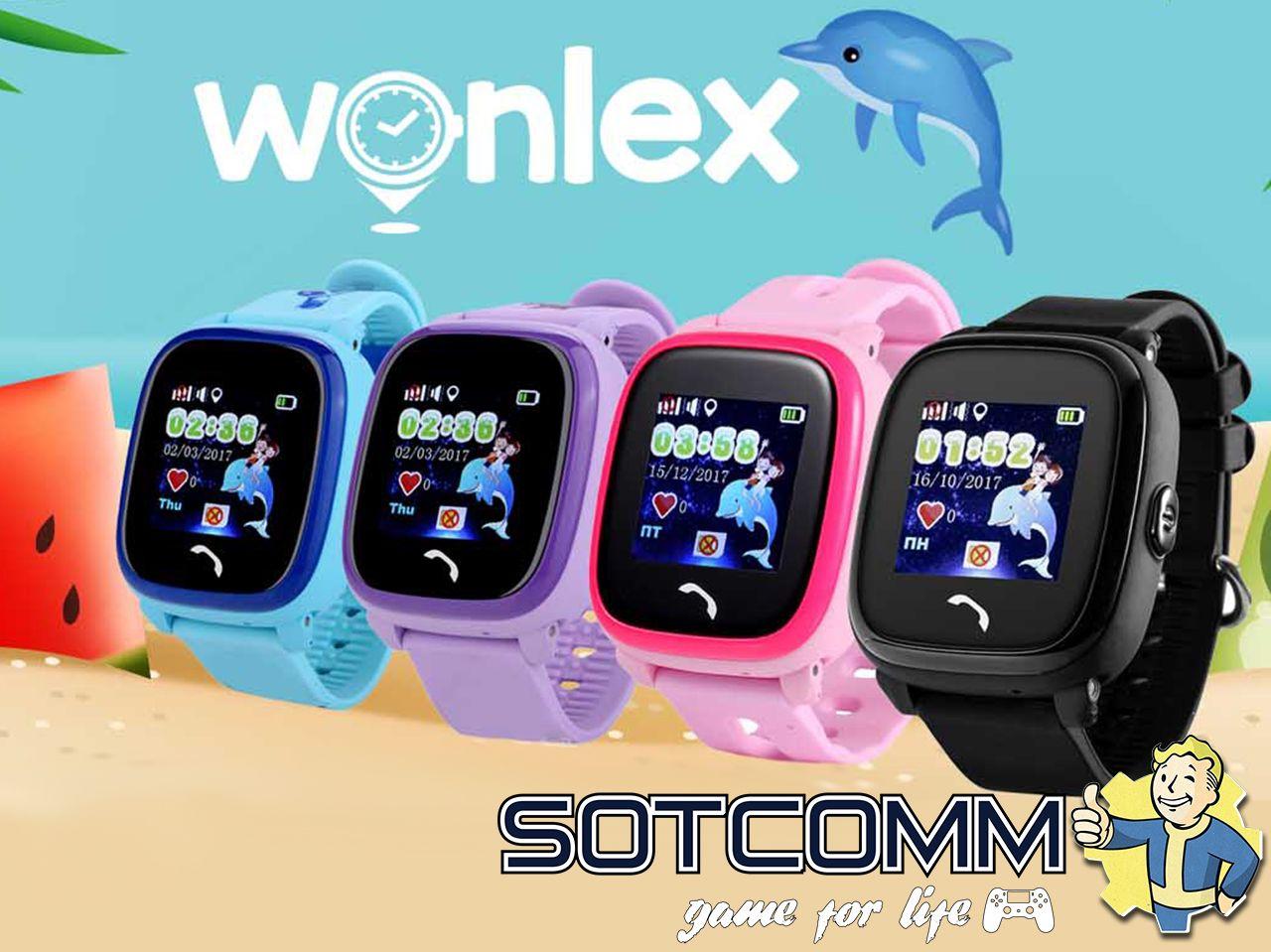 Детские смарт часы с GPS Wonlex Smart baby watch GW400S BF25