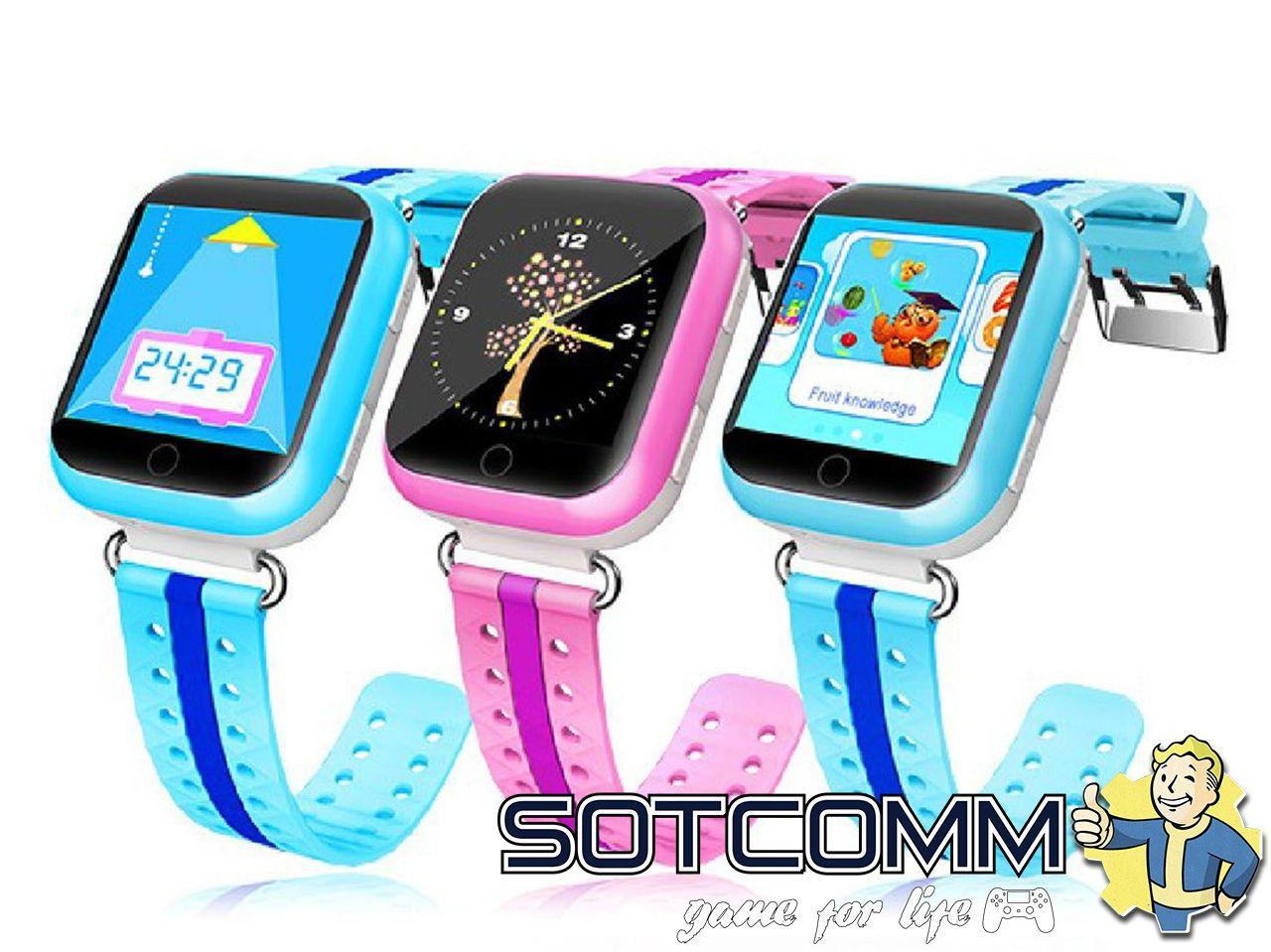 Детские смарт часы с GPS Wonlex Smart baby watch Q100 GW200S