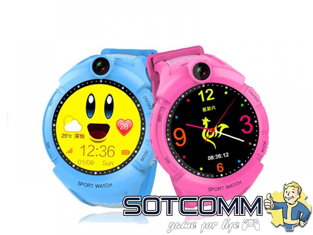 Детские смарт часы с GPS Wonlex Smart baby watch Q360 GW600