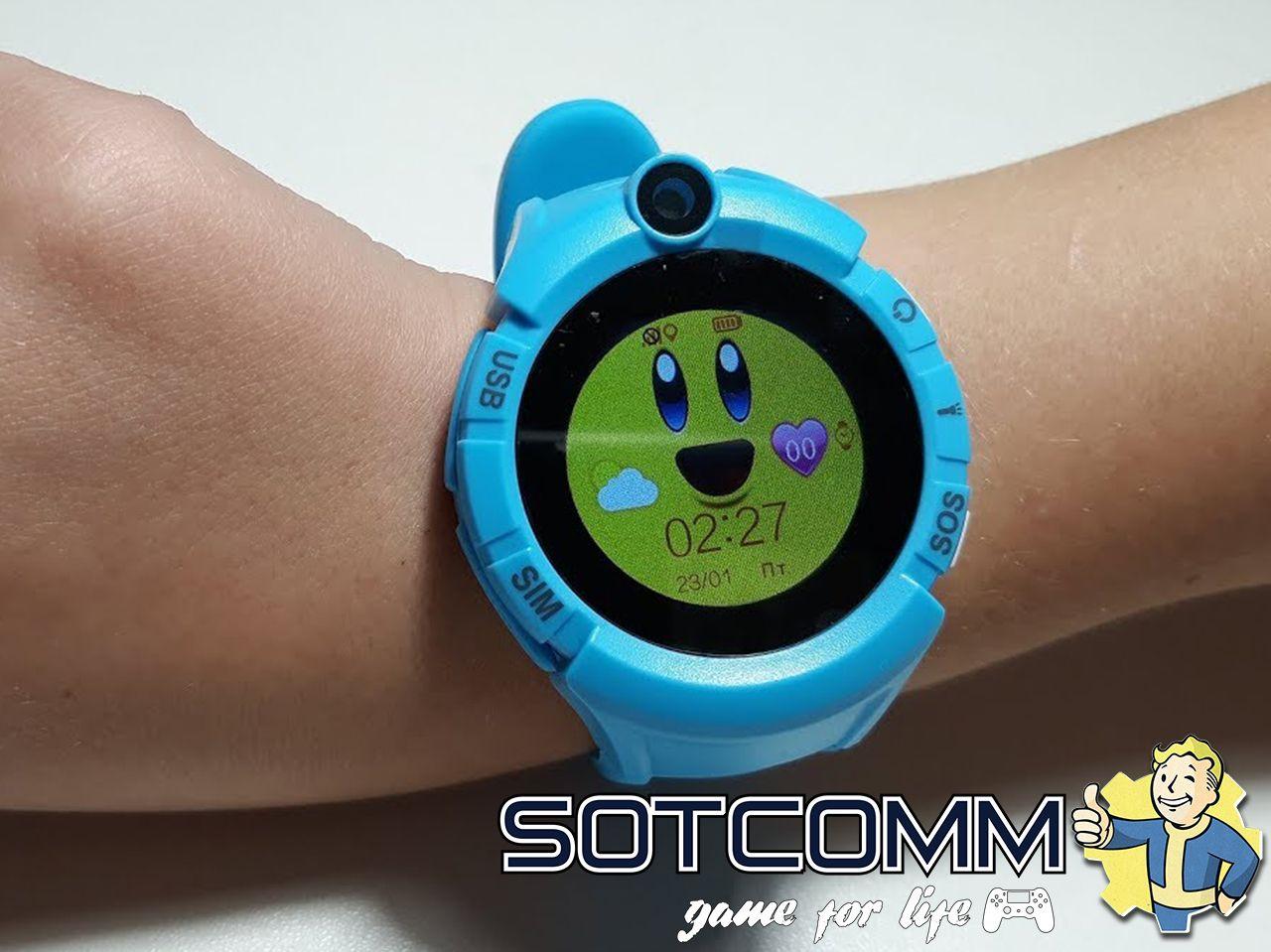Детские смарт часы с GPS Wonlex Smart baby watch Q360 GW600 купить