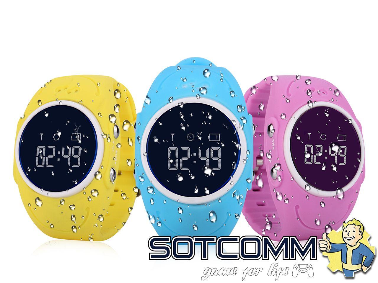 Детские смарт часы с GPS Wonlex Smart baby watch Q520 GW300S