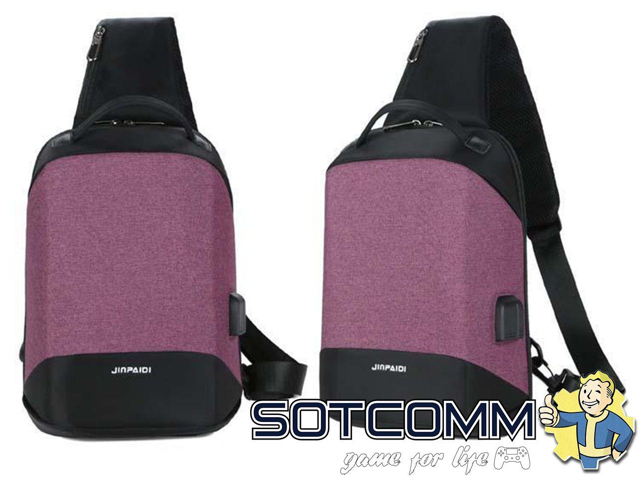 Мини городской рюкзак-антивор с USB и 3.5мм jack Bobby compact mini
